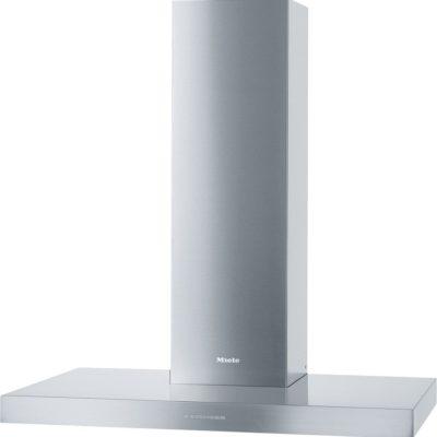 Wand-Dunstabzugshaube mit energiesparender LED-Beleuchtung und Tipptasten für komfortable Bedienung.  • Zeitloses Design – Edelstahl-Haubenschirm in 898 mm Breite  • Leistungsstark - 640 m3/h in der Boosterstufe  • Effiziente Filterung - 10-lagiger Edelstahl-Metallfettfilter  • Sicher und leicht zu reinigen - Miele CleanCover  • Für jede Wohnsituation passend - abluft- und umluftfähig