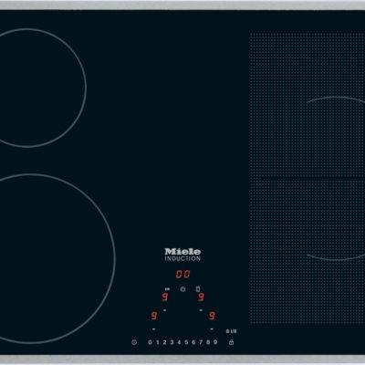 Aktionskochfeld!  Herdunabhängiges Induktionskochfeld mit PowerFlex-Kochbereich für maximale Flexibilität und Leistungsstärke.  • Intuitive Schnellanwahl per Zahlenreihe - Direktanwahl  • Ansprechendes Design - 764 mm breit mit umlaufendem Rahmen  • Flexibel und schnell - 4 Kochzonen inkl 1 PowerFlex-Bereich  • Kommunikation mit der Haube - Automatikfunktion Con@ctivity 2.0  • Großes Leistungsspektrum - Warmhaltefunktion und TwinBooster