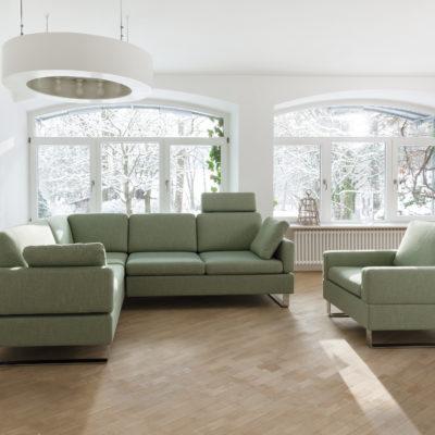 ALBA Sofa mit Sessel Massives Wohnen Schulte