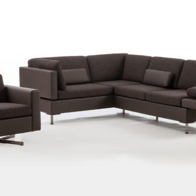 ALBA Sofa mit SERGE Sessel Massives Wohnen Schulte 2