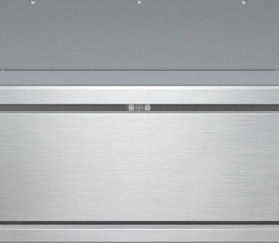Lüfterbaustein mit energiesparender LED-Beleuchtung und Tipptasten für komfortable Bedienung.  • Individuelles Küchendesign - vollintegriert in 880 mm Breite  • Einzigartiger Bedienkomfort - Con@ctivity 2.0  • Leistungsstark - 640 m3/h in der Boosterstufe  • Energiesparend und leise - leistungsstarker ECO-Motor  • Elegant und effizient – Randabsaugungspaneele