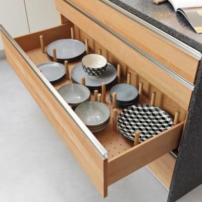Ordnungseinsätze in Schublade für Küche L1.