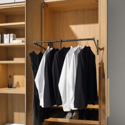 Faltliftbügel für Kleiderschrank Valore von Team7